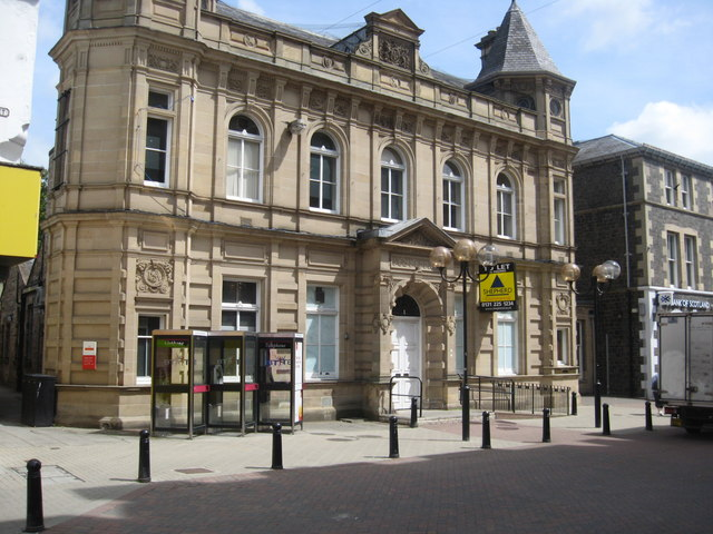 The old post office in Galashiels