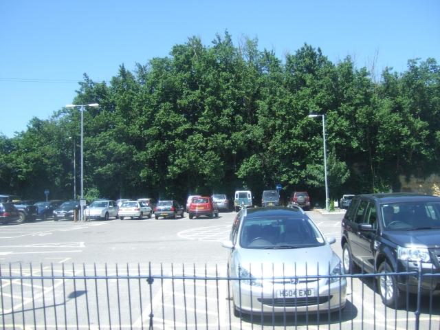 Station car park at Yeovil Junction