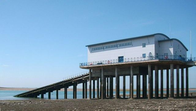 The Life Boat Station on Roa Island