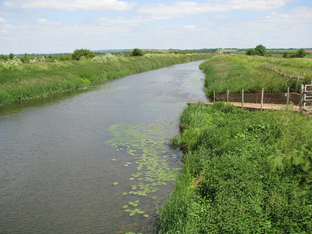 The River Tone at the 'New Bridge'