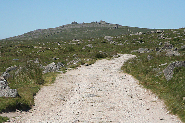 Dartmoor Forest: towards Great Mis Tor