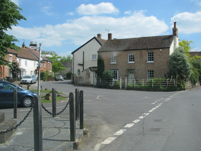 Centre of North Curry