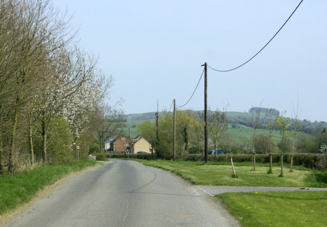 2010 : Minor road passing Stockley Farm