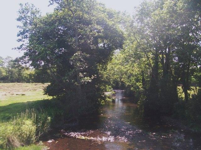 Afon Erch below Pont Abererch
