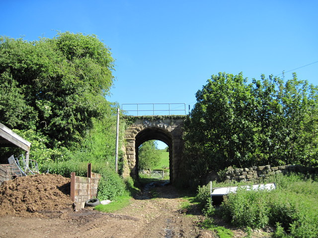 Railway  bridge  at  Underpark  Farm.