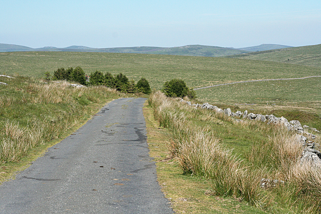 Dartmoor Forest: lane to Whiteworks