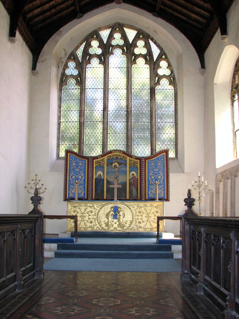St Mary's church in Great Massingham - the chancel