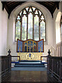 TF7922 : St Mary's church in Great Massingham - the chancel : Week 24