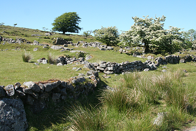 Dartmoor Forest: Whiteworks tin mine
