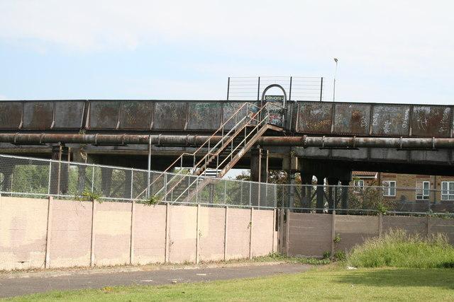 Croydon:  Disused stairway