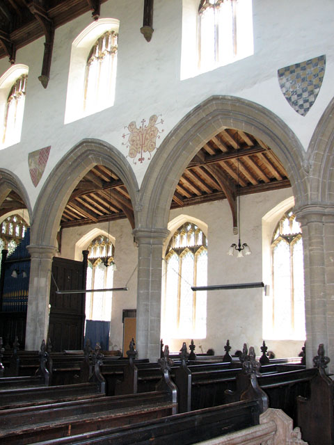St Mary's church in Great Massingham - south aisle arcading
