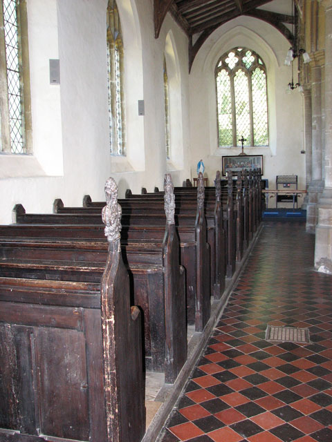 St Mary's church in Great Massingham - north aisle