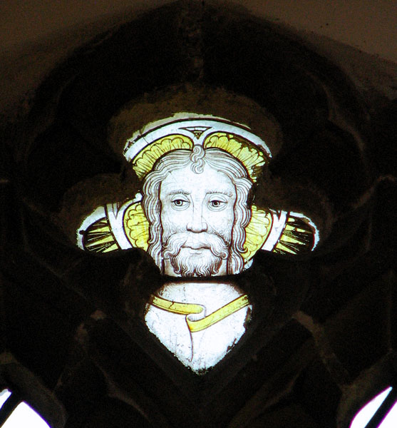 St Mary's church in Great Massingham -medieval glass