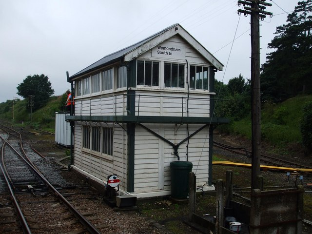 Wymondham South Junction Signal Box
