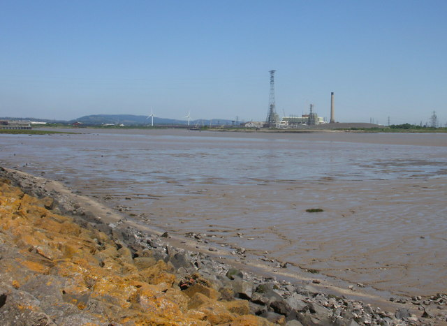 The mouth of the River Usk