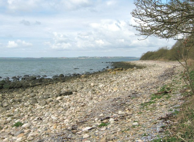 Beach above Kirkdale Sands