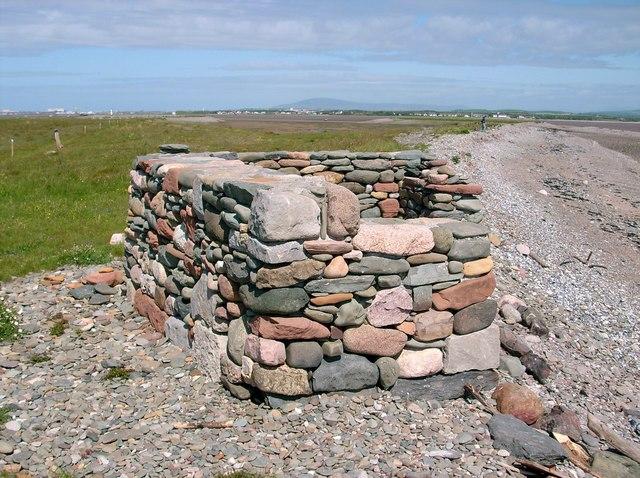 Stone Shelter on Foulney Island