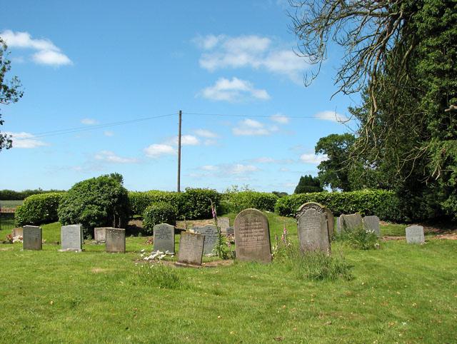 St Michael's church in Hockering - churchyard