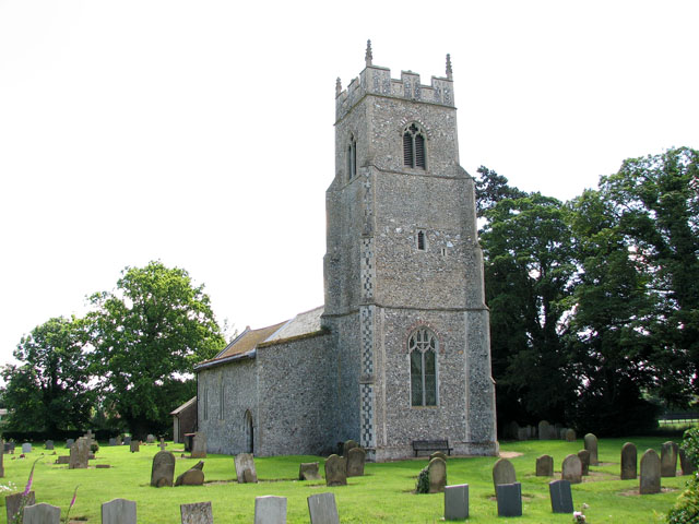 St Michael's church in Hockering
