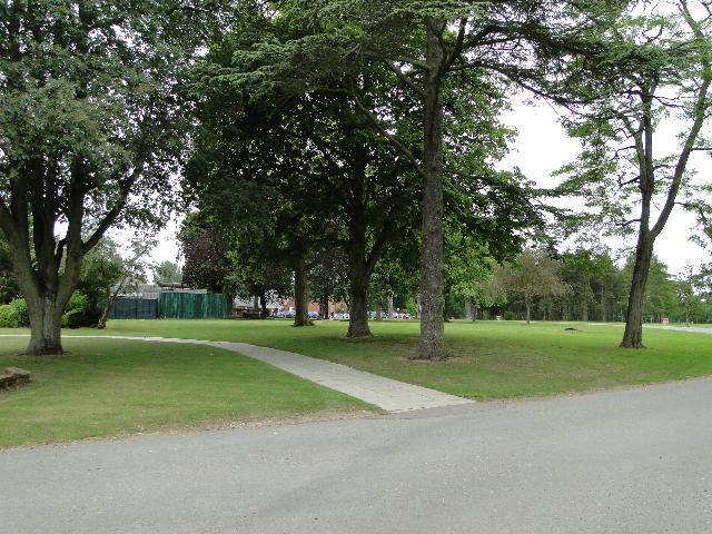 Old Buckenham Hall School grounds