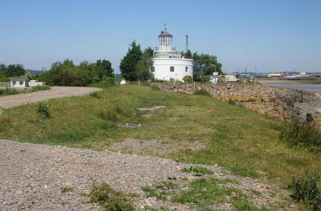 Former West Usk Lighthouse