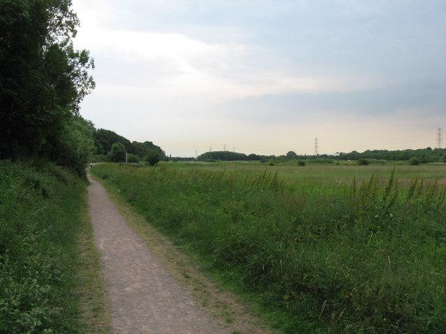 Footpath near Rumney, Cardiff