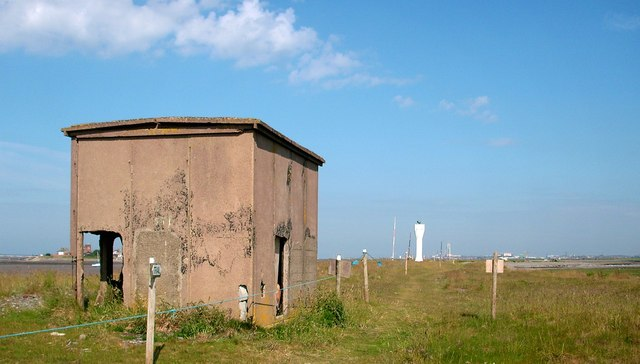 Blockhouse on Foulney Island