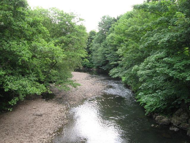 Rhymney River, near Llanrumney