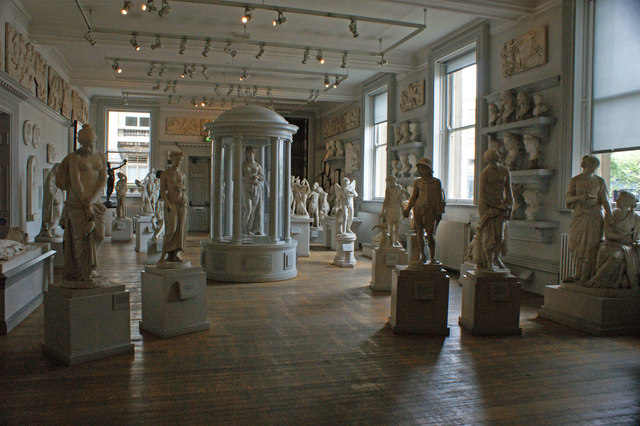 The Sculpture Hall at the Walker Art Gallery