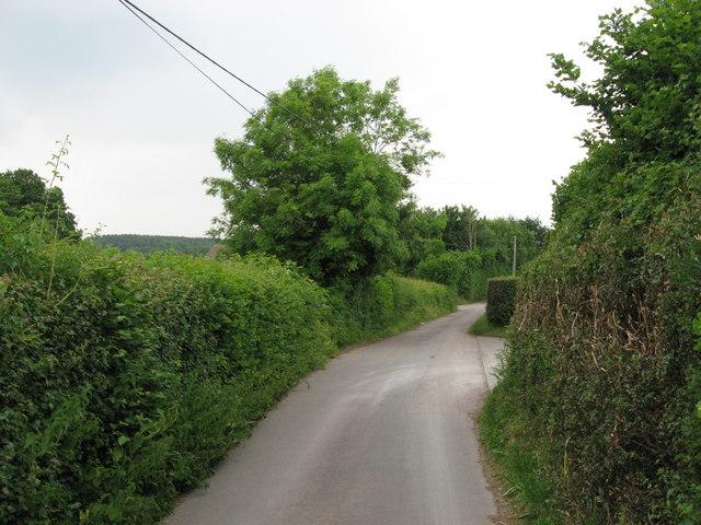 Parkwall Road near Pontprennau