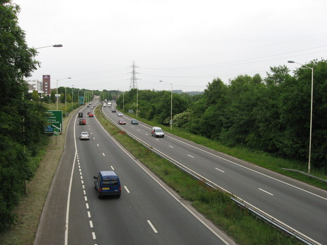 A48 looking north/east