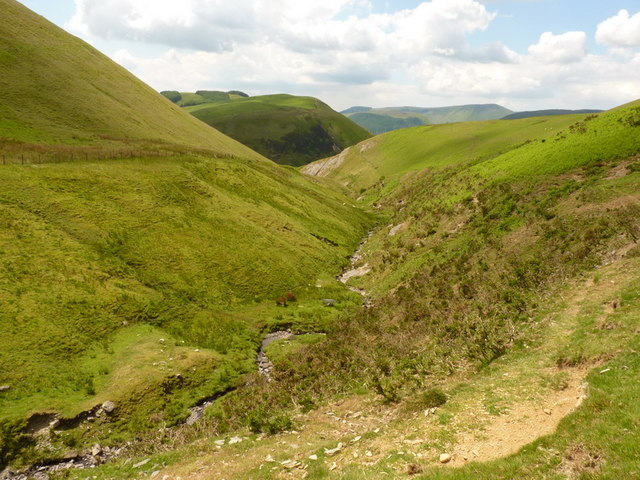 Down the valley of the Nant Efail-fach