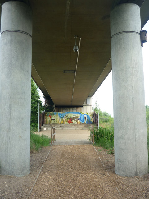 Meeting point, Bow Creek Ecology Park, East London