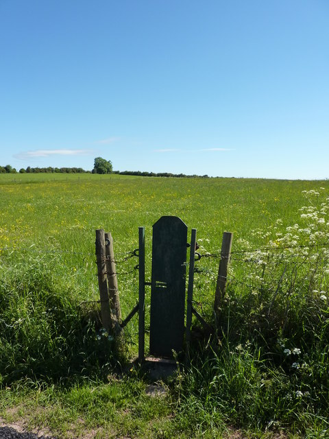 Narrow gate into field