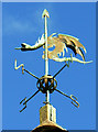 SP0600 : Weathervane, Church of St Michael and All Angels, Harnhill : Week 24