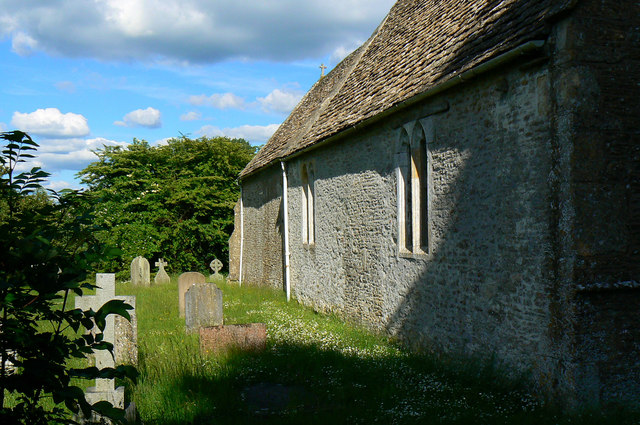 North wall, Church of St Michael and All Angels, Harnhill