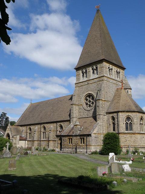 St Peter's parish church. Wimblington