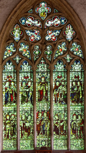 St Peter & St Paul, Watlington, Norfolk - Window