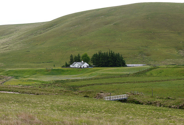 Remote outpost in Cwm Elan