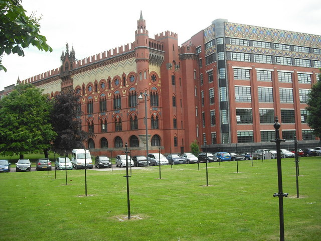 Former Templeton's carpet factory