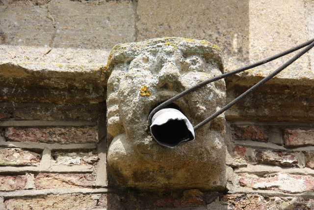 St Peter & St Paul, Watlington, Norfolk - Gargoyle