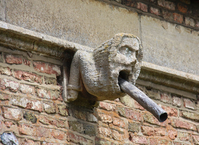 St Peter & St Paul, Watlington, Norfolk - Gargoyle