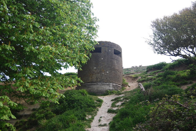 Seven Sisters Country Park - pillbox
