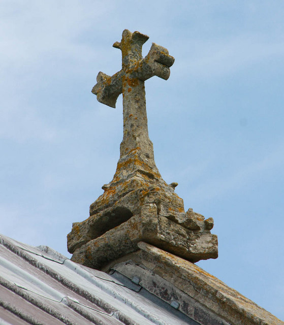 St Peter & St Paul, Watlington, Norfolk - Roof cross