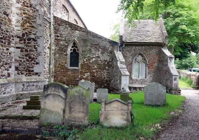 St Mary, West Winch, Norfolk - Porch