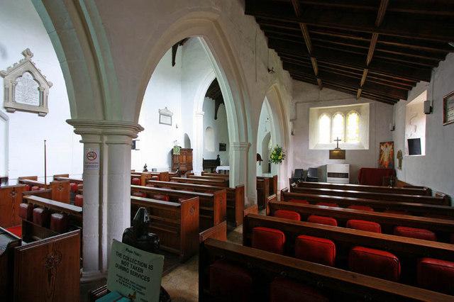 St Mary, West Winch, Norfolk - Interior