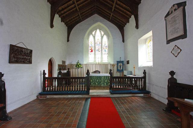 St Mary, West Winch, Norfolk - Chancel