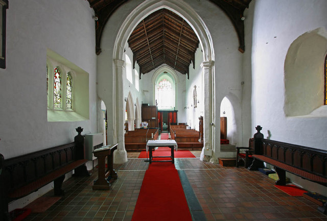 St Mary, West Winch, Norfolk - West end