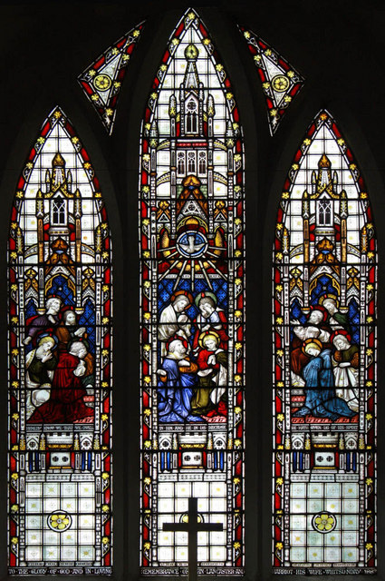 St Mary, West Winch, Norfolk - Window