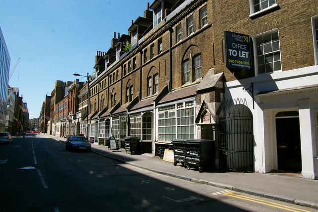 Worship Street, Shoreditch, London EC2